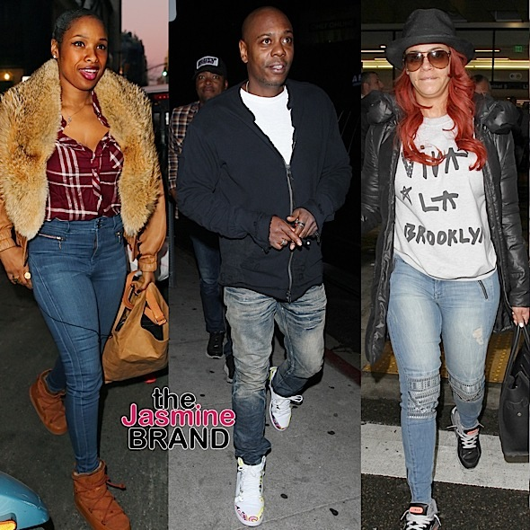 Celebrity Stalking: J.Hud, Dave Chappelle, Faith Evans, Garcelle Beauvais, Tessa Thompson