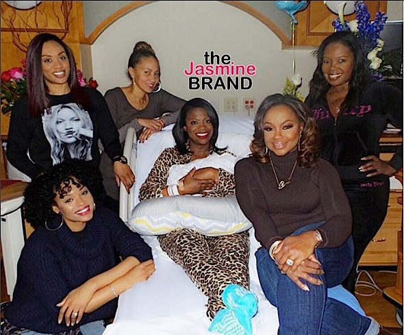 kandi burruss delivery room-the jasmine brand