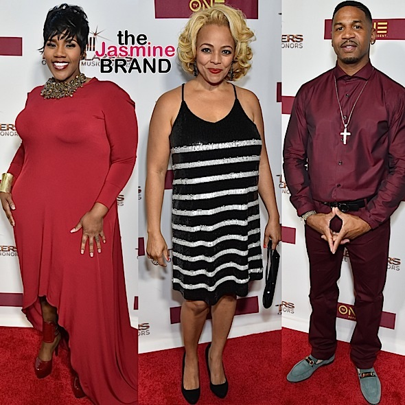 Kelly Price, Kim Fields, Stevie J