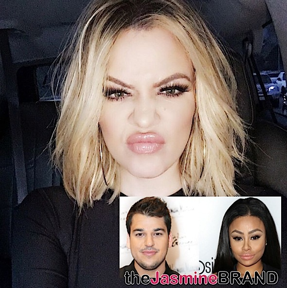 Khloe Kardashian: Blac Chyna Is Using My Brother + Rob Kardashian Posts New Photo of Chyna
