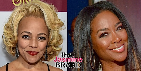 Kenya Moore Accuses Kim Fields of Having Multiple Cosmetic Surgeries