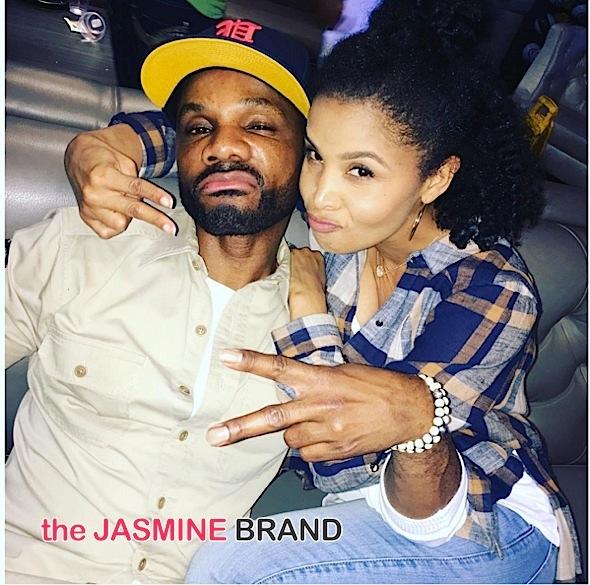 kirk franklin-wife tammy-the jasmine brand