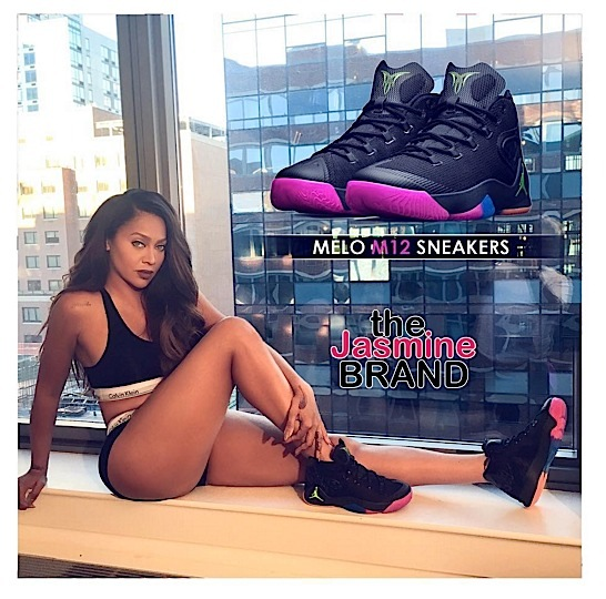 lala anthony-jumpan sneakers-the jasmine brand