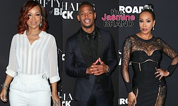 '50 Shades of Black' Premiere: Marlon Wayans, Vivica Fox, LisaRaye McCoy, Draya Michele, Affion Crockett, Mike Epps, King Bach