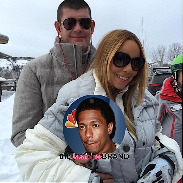 Mariah Carey Engaged, But Still Married to Nick Cannon! + Nick Posts Congratulatory Message [Photos]