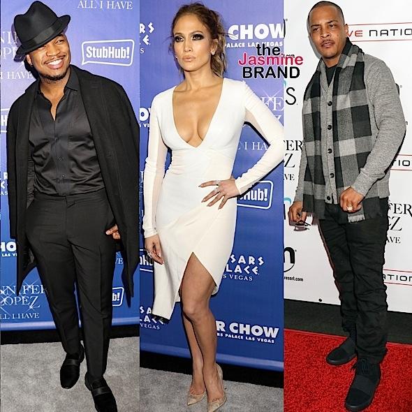 Ja Rule, NeYo, Keenan Ivory Wayans, T.I. Hit J.Lo's Las Vegas Residency Show [Photos]