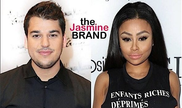 Rob Kardashian & Blac Chyna Live Together! [VIDEO]