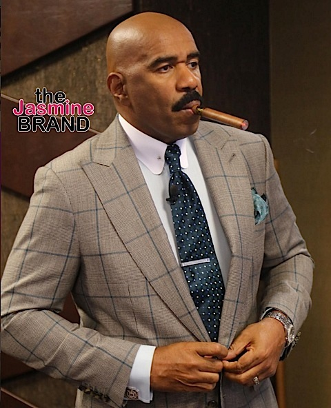 Steve Harvey Talks Friendship with Bill Cosby + Why Chris Rock Should Host Oscar's