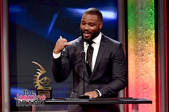 BEVERLY HILLS, CA - FEBRUARY 21: Director Ryan Coogler accepts the ABFF Rising Star award onstage during the 2016 ABFF Awards: A Celebration Of Hollywood at The Beverly Hilton Hotel on February 21, 2016 in Beverly Hills, California. (Photo by Alberto Rodriguez/BET/Getty Images for BET)