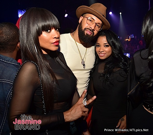 Floyd Mayweather, Jeezy, Toya Wright, Monyetta Shaw, DJ Drama Party At CIAA