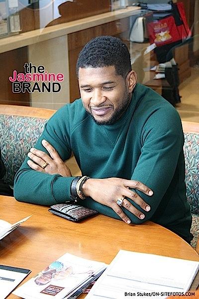 Usher, Jermaine Dupri & Killer Mike Kick Off Black History Month at ATL Bank [Photos]
