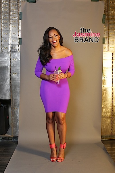 Basketball Wives LA's Malaysia Pargo Is the New Face of Seagram's Gin [Photos]