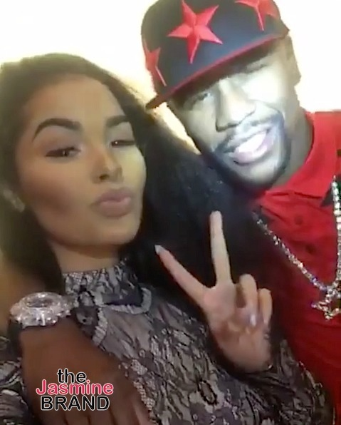 Meet Floyd Mayweather's New Rumored Boo, 19-Year-Old Ramarni Ball [Photos]