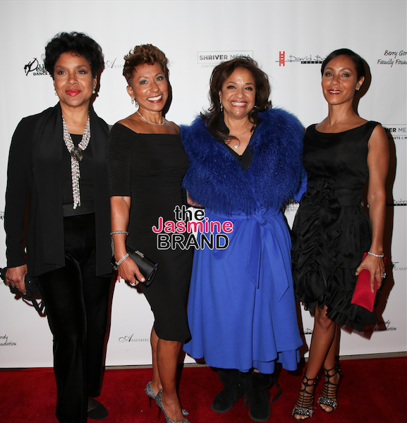 Phylicia Rashad, Jada Pinkett-Smith, Mary J. Blige Attend Debbie Allen's 'Freeze Frame' + Melanie Fiona, Coco Austin, Ayesha & Steph Curry
