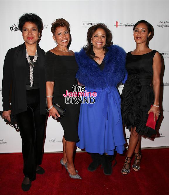 Phylicia Rashad, Jada Pinkett-Smith, Mary J. Blige Attend
