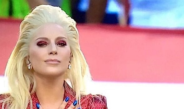 Watch: Lady Gaga Belts Out National Anthem [VIDEO]