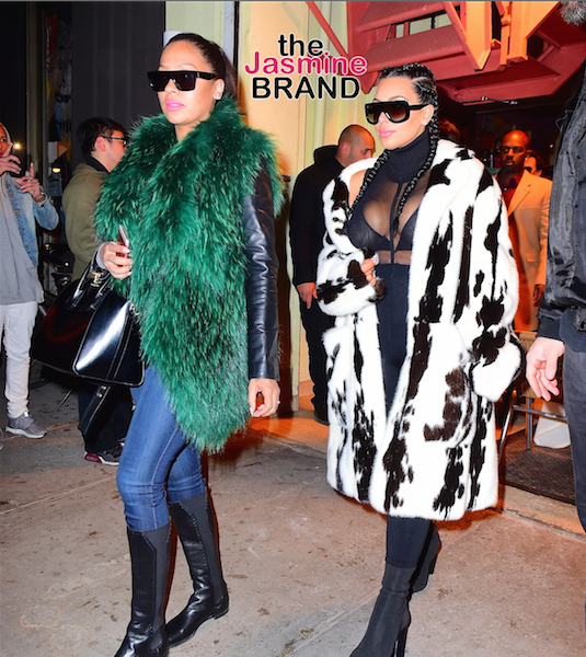 Celebrity Stalking: Lala Anthony, Kim Kardashian, Lenny & Zoe Kravitz, Lisa Bonet, Brandy, Malaysia Pargo, Keesha Sharp [Photos]
