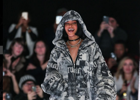 Rihanna Debuts Fenty X Puma Collection Debuts At NYFW [Photos]