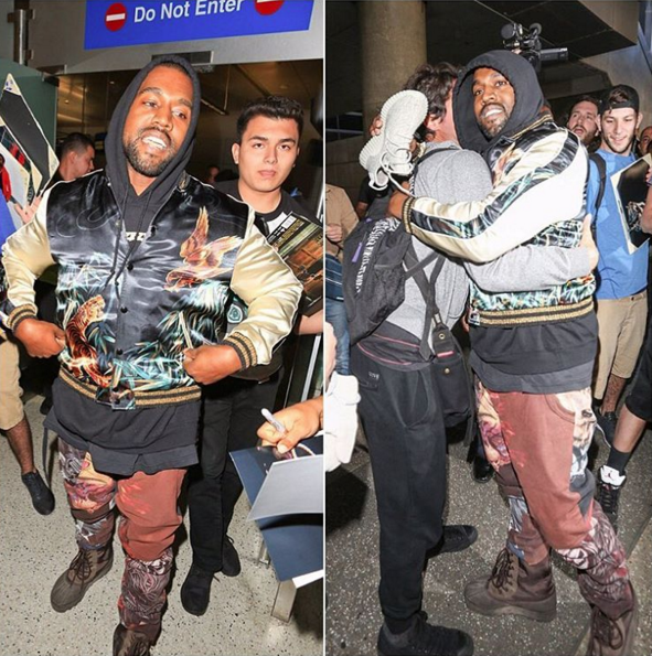 Kanye West Breaks Up Paparazzi Fight [VIDEO]