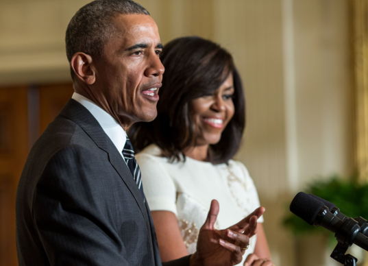 President Obama Jokes: You know it's black history month when. [VIDEO]