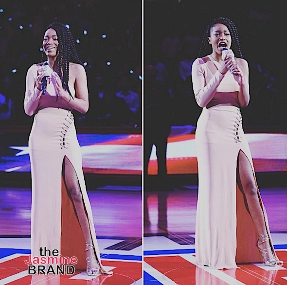 Watch Keke Palmer Sing the National Anthem [VIDEO]