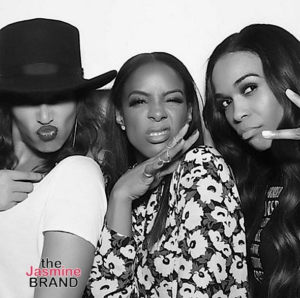 Destiny's Child (Sorta) Reunites for Kelly Rowland's Birthday + Solange, Adrienne Bailon, Lance Gross Attend [Photos]