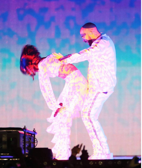 Drake Pops Up For Rihanna's 'Work' Performance At BRIT Awards [VIDEO]