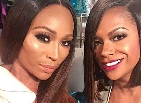 Behind the Scenes! Real Housewives of Atlanta Films Reunion: Cynthia Bailey, Porsha Williams, Kandi Burruss, Phaedra Parks, Kenya Moore, Kim Fields [Photos]