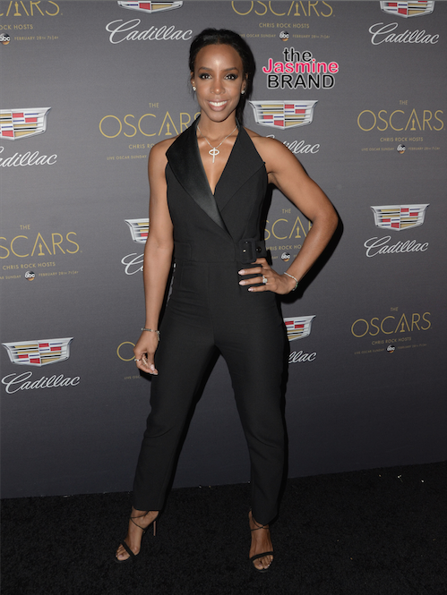 Kelly Rowland at the Cadillac Pre-Oscar Celebration held at The Chateau Marmont.