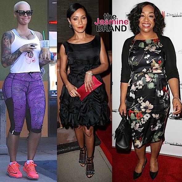 Celebrity Stalking: Amber Rose, Jada Pinkett-Smith, Shonda Rhimes, Chrissy Teigen, John Legend, Phylicia Rashad, Adina Porter