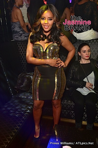 "Angela Simmons hosted the grand opening of ""Medusa Lounge"" in Atlanta. Photo: Prince Williams/ATLPics.net"