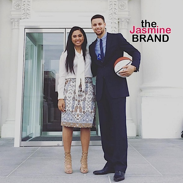 Ayesha & Steph Curry