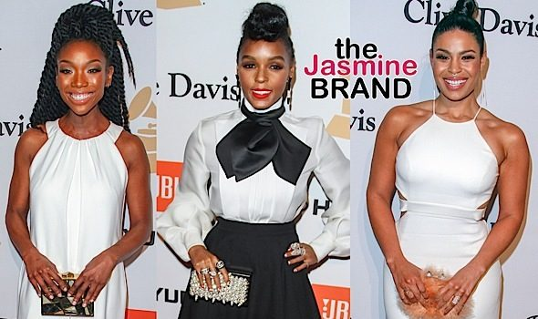 Ciara & Russell Wilson, Brandy Jordin Sparks, Fetty Wap Hit Clive Davis Pre Grammy Bash [Photos]