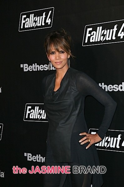 "11/05/2015 - Halle Berry - ""Fallout 4"" Video Game Launch Party - Arrivals - Downtown Los Angeles - Los Angeles, CA, USA - Keywords: vertical, attendees, Arrival, Event, celebration, open world action role-playing video game, Bethesda Game Studios, Bethesda Softworks, PlayStation 4, Xbox One, Microsoft Windows, gaming, Arts Culture and Entertainment, Celebrity, Celebrities, Person, People, California Orientation: Portrait Face Count: 1 - False - Photo Credit: Guillermo Proano / PR Photos - Contact (1-866-551-7827) - Portrait Face Count: 1"