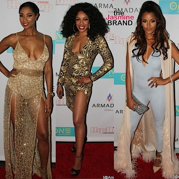 "Eva Marcille, Claudia Jordan, Kenya Moore, Nicole Murphy & More At ""The Next :15,"" ""Here We Go Again"" & ""Born Again Virgin"" Premiere [Photos]"