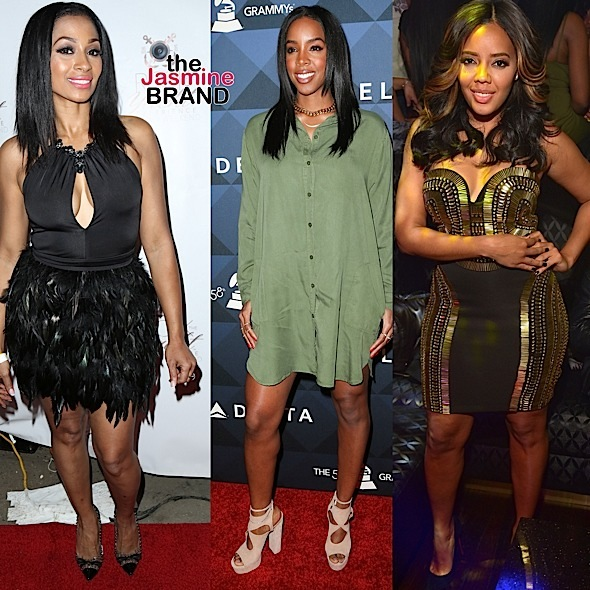 Karlie Redd, Kelly Rowland, Angela Simmons