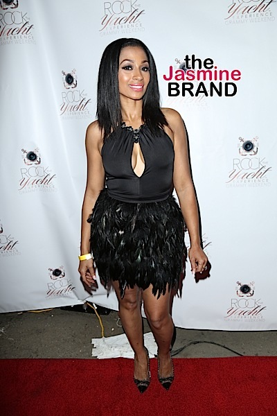 Karlie Redd at Rock the Yacht Experience Grammy Weekend