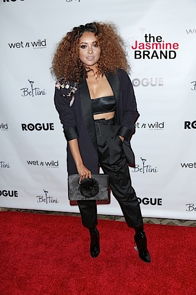 Kat Graham attends Rogue Magazine Issue 2 Launch Party.