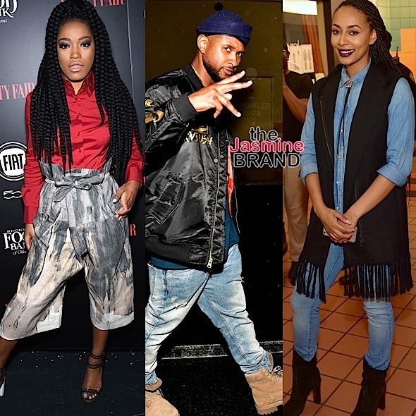 Celebrity Stalking: Keke Palmer, Usher, Keri Hilson, J.Lo & Kelly Rowland's Son