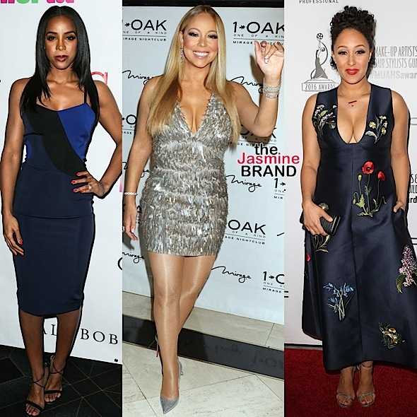 Kelly Rowland, Mariah Carey, Tamera Mowry