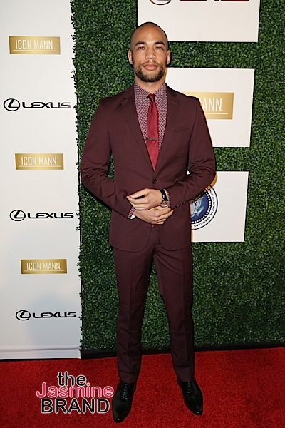 02/26/2016 - Kendrick Sampson - ICON MANN's 4th Annual Power 50 Dinner - Arrivals - Mr. C Beverly Hills, 1224 Beverwil Drive - Los Angeles, CA, USA - Keywords: Vertical, Person, People, Red Carpet Event, Arrival, Portrait, Photography, Photograph, Arts Culture and Entertainment, Celebrities, Celebrity, Topix, Bestof, California Orientation: Portrait Face Count: 1 - False - Photo Credit: Guillermo Proano / PR Photos - Contact (1-866-551-7827) - Portrait Face Count: 1