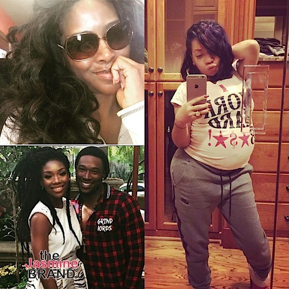 Brandy Gets Flirty With Kevin McCall, Kenya Moore Fuels Pregnancy/Engagement Rumors + T.I. & Tiny Are Having A Girl [Photos]