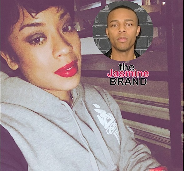 Keyshia Cole Accused of Egging Car Over Bow Wow??!! [Photos]