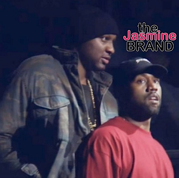 Lamar Odom Makes 1st Public Appearance at Kanye West Fashion Show [VIDEO]