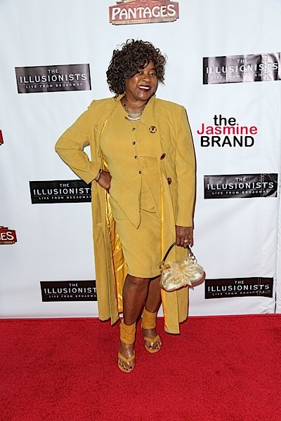"Loretta Devine at ""The Illusionists - Live From Broadway"" Premiere at Pantages Theatre"