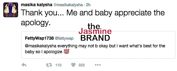 masika fetty wap tweets-the jasmine brand