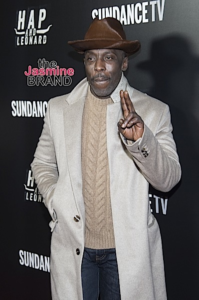 "Michael Kenneth Williams at the ""Hap and Leonard"" TV Series in NYC."