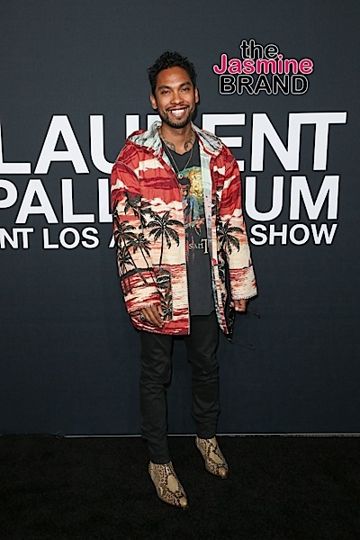 02/10/2016 - Miguel - Saint Laurent at the Palladium - Arrivals - Hollywood Palladium, 6215 Sunset Boulevard - Los Angeles, CA, USA - Keywords: Vertical, Photography, Arts Culture and Entertainment, Attending, Person, People, Celebrity, Celebrities, Photograph, California Orientation: Portrait Face Count: 1 - False - Photo Credit: PRPhotos.com - Contact (1-866-551-7827) - Portrait Face Count: 1