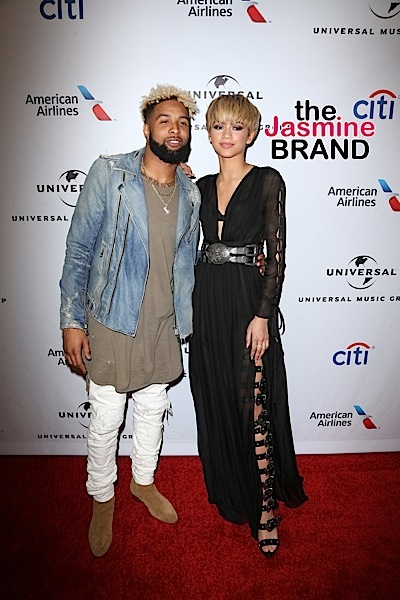 Odell Beckham Jr., Zendaya - Universal Music Group's Grammy Afterparty