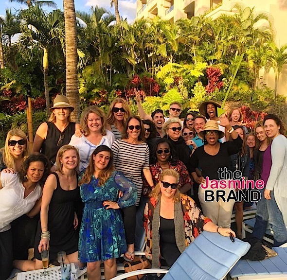 Oprah Takes Staff to Maui, Ciara & Russell Wilson Hit Knicks Game + Serena Williams Builds THIRD School!
